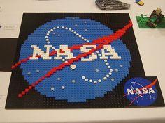 NASA LEGO logo #NASA #LEGO