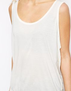OWNED Tank: White