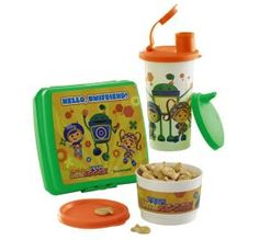 Tupperware | Team Umizoomi™ Lunch Set.  Earn products for free by hosting an online party. my.tupperware.com/smithcrystalb