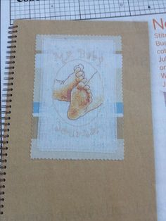 My Baby Journal by Maria Diaz Cross Stitch Collection Issue 197 Hardcopy