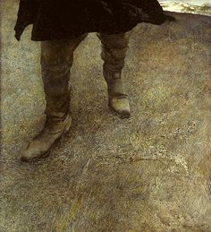 Andrew Wyeth painted these boots after he had dreamed of Albrect Durer.