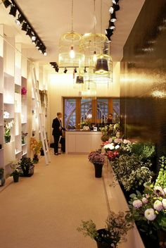 Bos Bloemen flower store by Juma Architects, Ghent   Belgium store design