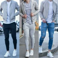 What are some dressing tips for men? Boy Outfits, Casual Outfits, Men Casual, Outfits Jeans, Stylish Men, Mens Fashion Suits, Boy Fashion, Fashion Menswear, Sneakers Outfit Men