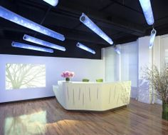 Dupont Corian Office Reception Design