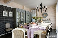Dining room at the country house