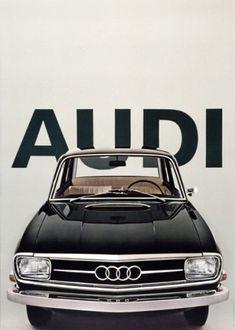 ●Vintage Audi Poster
