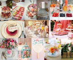Whimsical + Colorful   Wedding Inspiration Board