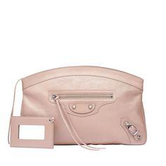 Pink Balenciaga Classic Silver Pearly Premier - Women's Holiday Collection - #Balenciaga #handbags