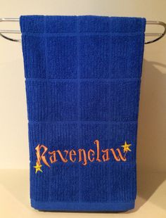 Harry+Potter+kitchen+towel+Ravenclaw+by+OffTheHookbyLora+on+Etsy,+$12.00