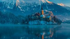 lake bled slovenia hd wallpaper download full free high quality
