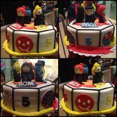 2ne1 5th anniversary cake