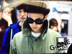 141029 GD at Incheon Airport