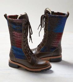 Brown Woolrich Santa Fe Boot
