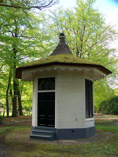 Theekoepel Asserbos, Beilerstraat 84 Assen ca.1840,