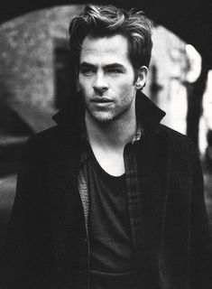 Chris Pine. I just need a whole board dedicated to him. So hot!