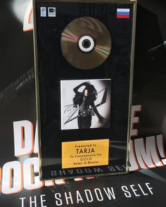 "5,606 харесвания, 164 коментара – Tarja Turunen (@tarjaofficial) в Instagram: ""Today is Tarja's birthday and to celebrate it @earmusic sent us a Gold Record Award for ""The Shadow…"""