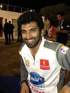 Twitter / manjuramanan: Aditya Roy Kapoor at CCL Dubai ...