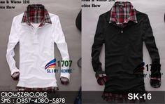 Blazer Jaket Kemeja T-shirt Kaos Korea SK-16