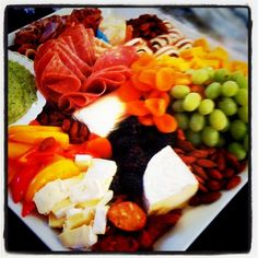 We rock the BEST meat and cheese platters in town!!