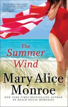 The summer wind by Mary Alice Monroe.  Click the cover image to check out or request the bestsellers kindle.