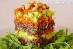 Trigo Sarraceno con olivada - receta vegana