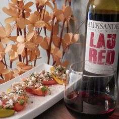 April 17, 2016 - Aleksander Estate Winery 2014 Lau Red with Quinoa Stuffed Mini Peppers.  Think Local!           With spring upon us think healthy & local with Aleksander Lau Red and local mini peppers as an appetizer.   What is a better way to say cheers?!  - See more at: http://www.essexcountywineries.ca/wines/2016/20160417.htm#sthash.KGb9oK7P.dpuf
