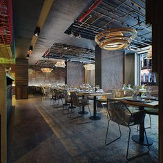 YOKO | restaurant  Location: Kiev, Ukraine Architect: KO+KO architects