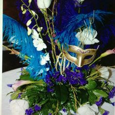 Love This Minus The Feathers Halloween Wedding Centerpieces Tables