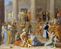 The Triumph of David. Nicolas Poussin 1593/94 – 1665
