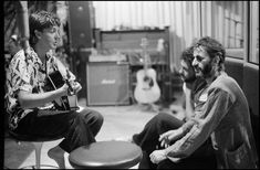 Paul and at AIR Studios, Montserrat. Photo by Linda McCartney Lennon And Mccartney, Linda Mccartney, Paul Martin, Suspicious Minds, Tug Of War, British Invasion, Ringo Starr, Great Bands, Rock Music