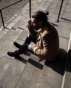 Anthony Bogdan in Samsøe & Samsøe Spirit jacket & Travis jeans. Todays Weather, Gents Fashion, Dapper, Haha, Hipster, Spirit, Jacket, Jeans, Instagram Posts