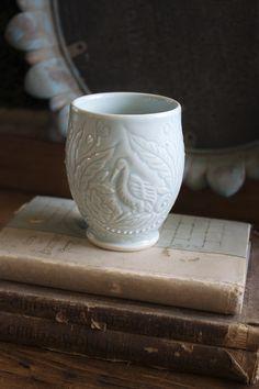 Grace DePledge hand-carved tumbler