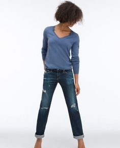 The Tomboy in 10 Years Parched Wood, oz. A relaxed straight leg jean that is fitted in the hip and gives way to a loose leg. The Tomboys, Ag Jeans, Adriano Goldschmied, Stretch Denim, Boyfriend Jeans, 10 Years, Online Price, Boutique, Legs