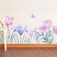 Flower Wall Decals – the treasure thrift