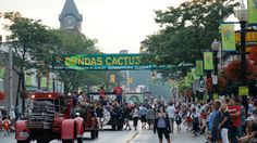 """Held annually in Dundas a small town that is part of Hamilton. Dundas is """"The Cactus Capitol Of Canada"""" Hamilton Ontario Canada, Dundas Ontario, All About Canada, Small Towns, Wonderful Places, Times Square, Cactus, Street View, Backyard"""