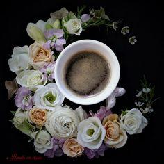 #coffee #flowers #lovers #custom #floral #arrangements #happy #florist #bucharest #livadacuvisini #paulamoldovan #goodmorning #bunadimineata #flori #cafea #design Coffee, Tableware, Design, Kaffee, Dinnerware, Tablewares, Cup Of Coffee, Dishes