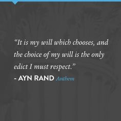 Best Anthem Images  Anthem Ayn Rand Ayn Rand Quotes Author Quotes From Equality  Ayn Rand Quotes Typed Quotes Anthem Ayn Rand