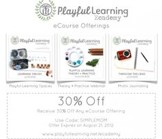 Weekend giveaway: Playful Learning