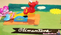 Gâteau Elmo Sesame Street