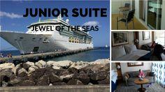 Jewel of the Seas Junior Suite review. Cabin 1098