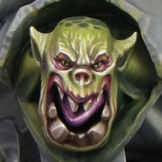 ::Sproket's guide to green skin:: Sproket's Small World: Painting Ork (Orruk) flesh