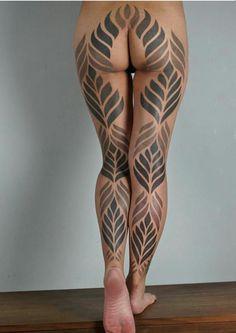 Tattoo Blanco Y Negro Tatuaje