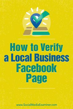 Verifying a local business page adds a layer of legitimacy to your presence and can help customers feel more confident when they engage with you on Facebook.