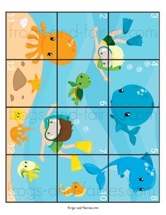 These colorful Addition and Subtraction to 20 Puzzles will help your little learners to practice! This printable PDF includes 18 pages of 6 addition and subtraction to 20 puzzles. Fun Worksheets For Kids, Animal Worksheets, Preschool Worksheets, Kindergarten Math Activities, Preschool Learning Activities, Preschool Activities, Diy Back To School, High School, Free Printable Puzzles