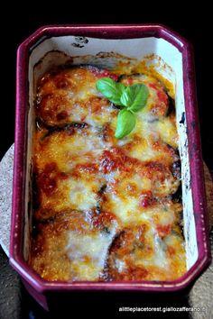 parmigiana di melanzane a little place to rest