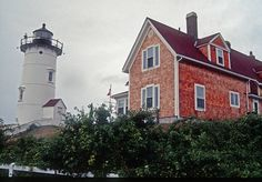 Nobska Point Light at Woods Hole in Falmouth MA on Cape Cod..♔...