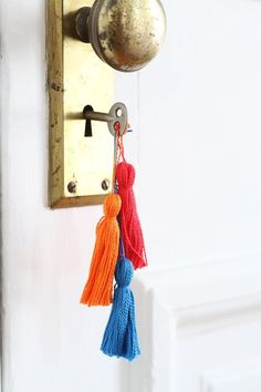 How To Make Your Own Tassels — Apartment Therapy Tutorials | Apartment Therapy