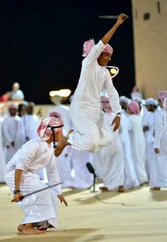 Omani Traditional Dance from Muscat festival 2014 - Oman