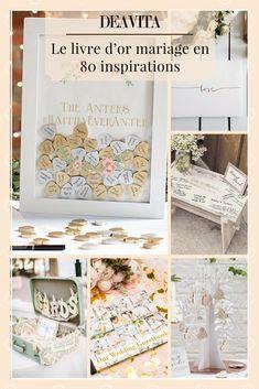 Le livre d'or mariage reste un souvenir matériel et concret de votre jour J et garde ensemble les centaines de témoignages précieux de vos convives. #wedding