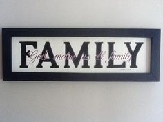Custom Family Plaque - Rustic Touch Designs | Scott's Marketplace #shoplocal #homedecor #family